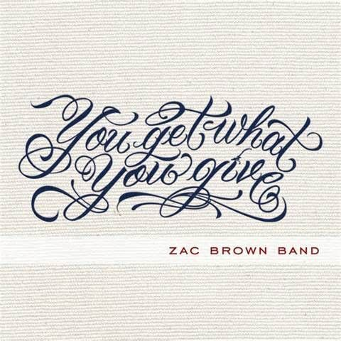 Zac Brown Band You Get What You Give On Vinyl 2lp Out