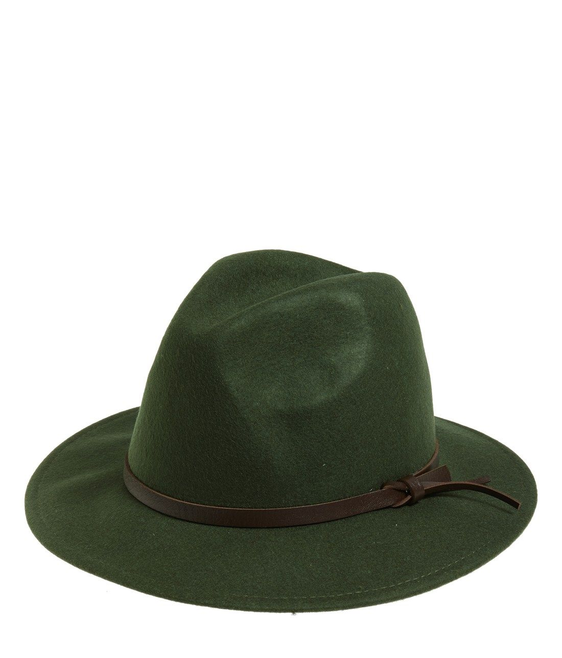 b55e847c8a312a Top off the fall look with a Panama hat fashioned from green felted wool.
