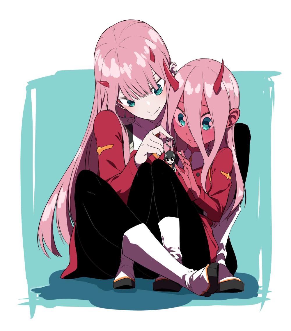 2 Zero Two's | Personagens de anime, Animes wallpapers e ...