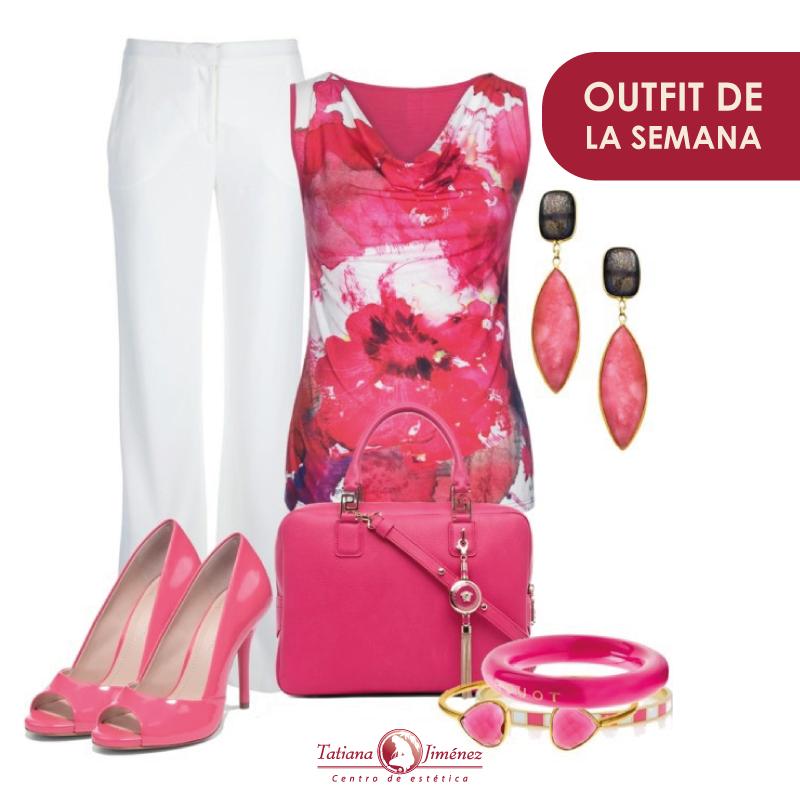 Se acerca el 19 de Octubre y el rosa está por todas partes ¿Por qué no incorporarlo a tu ropa? #TatianaJimenez #Belleza #OutfitSemanal #Outfit #Mujer