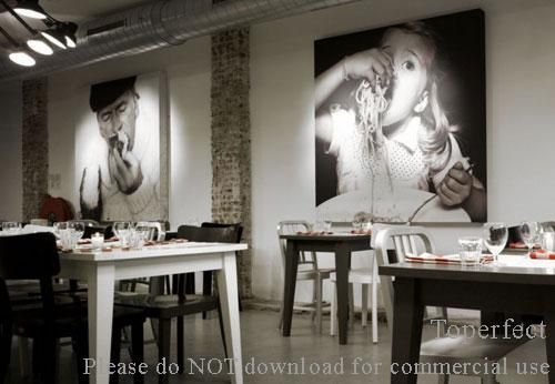 38 Awesome restaurant wall art images | wall art | Pinterest | Wall ...