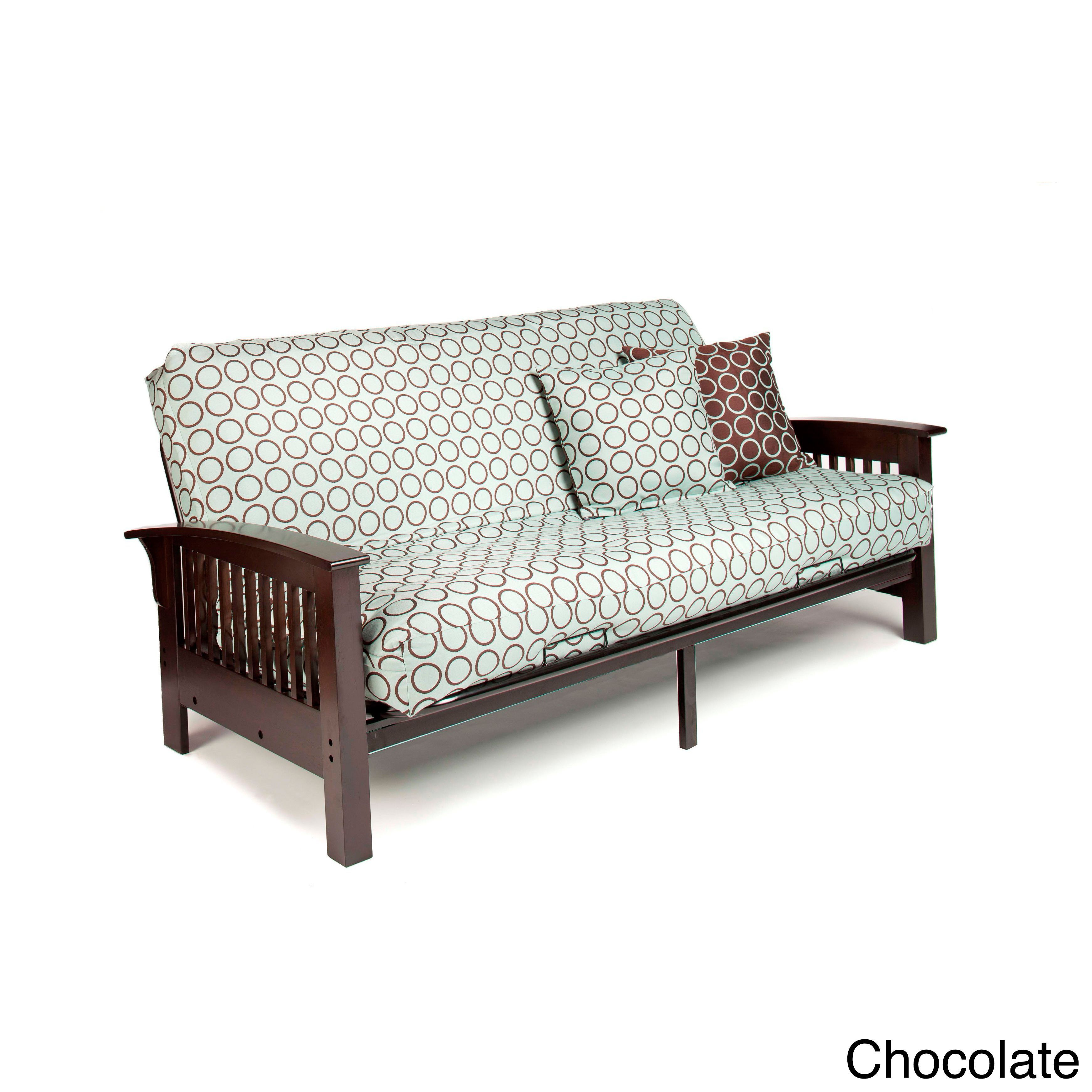 Night And Day Furniture Arbor Full-size Futon Frame with 7-inch ...
