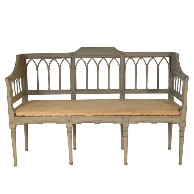Swedish Settee Swedish Sofa 18th Century Scandinavian Sofa Bench From A Unique Collection Of Antique And Moder Swedish Sofa Scandinavian Sofas Sofa Bench