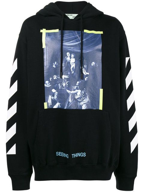 a840a493beee OFF-WHITE Caravaggio print hoodie.  off-white  cloth