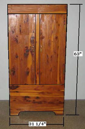 Free Armoire Wardrobe Closet Plans   How To Build A Wardrobe Armoire Closet