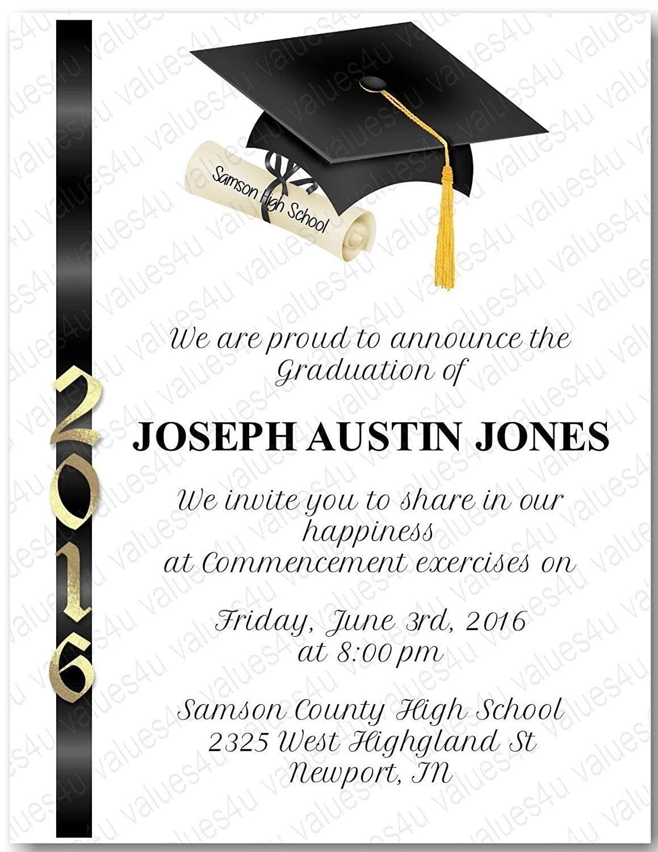 Graduation Ceremony Invitation Card Graduation Invitations Graduation Party Invitations Templates Graduation Invitation Cards
