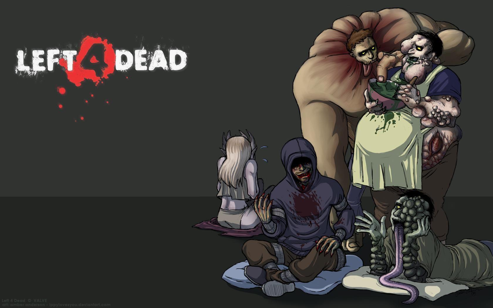 Game Left Dead Wallpapers Left 4 Dead Fan Art Tank Video Game