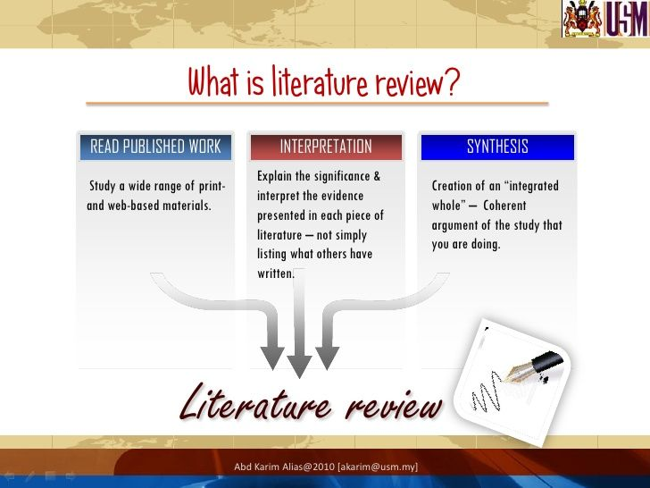 What Is A Literature Review  Isearch    Literature