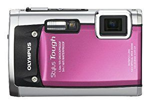 Olympus Stylus Tough 6020 14mp Digital Camera With 5x Wide Angle Zoom And 2 7 Inch Lcd Pink Http Best Underwater Camera Digital Camera Underwater Camera