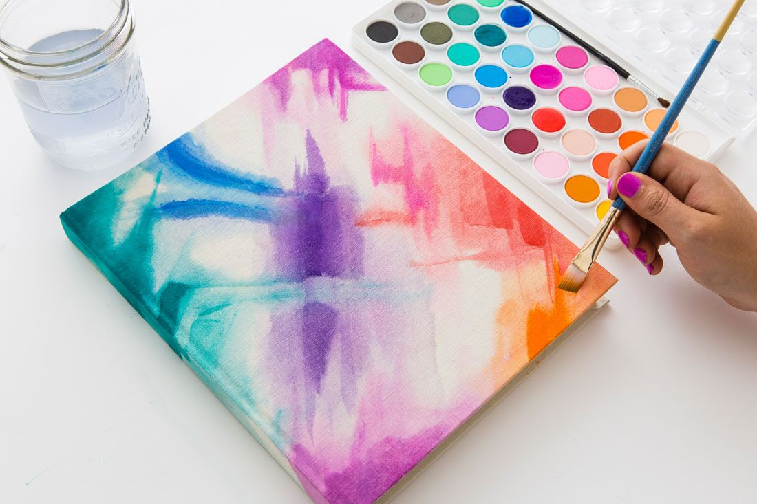 Watercolor book covers - Diy Your Own Notebook Cover With A Touch Of Watercolor