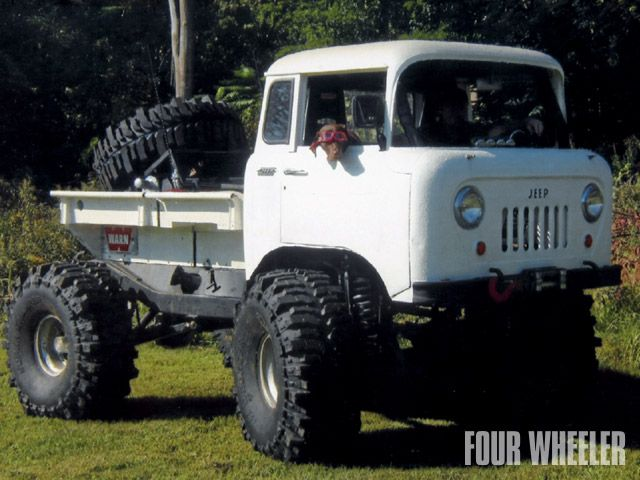 Jeep Fc 150 Lifted