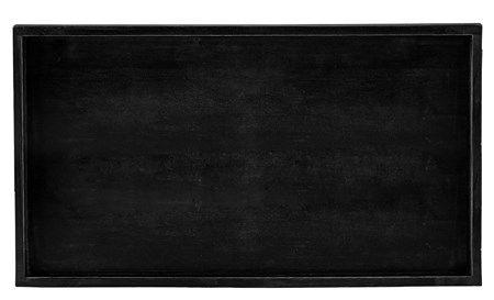 KJ Collection Tarjotin Puu Musta 43×23 cm | Direc.fi | Kodin tavarat