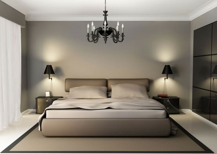 Schlafzimmer inspiration farbe  tolles modell - schlafzimmer farben - graues design | Schlafzimmer ...