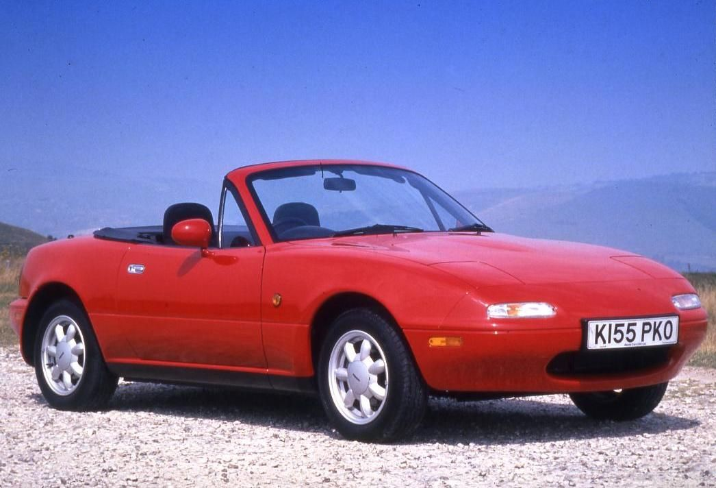 Mazda MX5 (1989) 126mph The original Mazda MX5 is