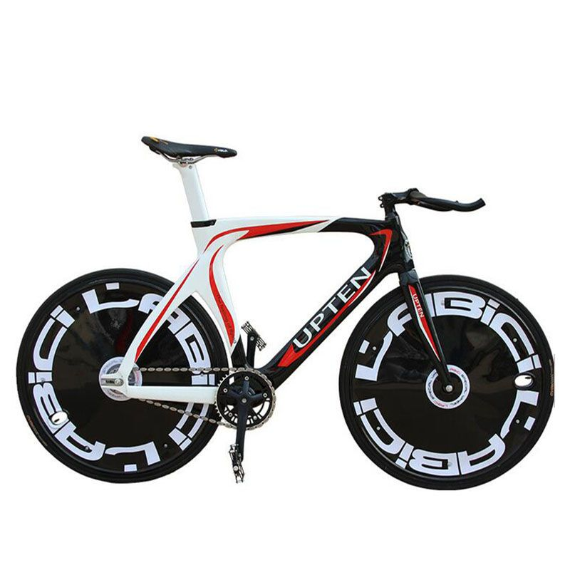 Road Bicycle Fixed Gear Bike carbon frame 700C 52CM Promotion Diy ...