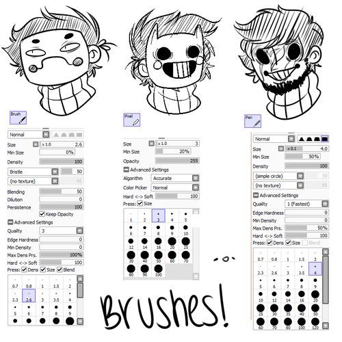 can i have your brush settings? i love your art.