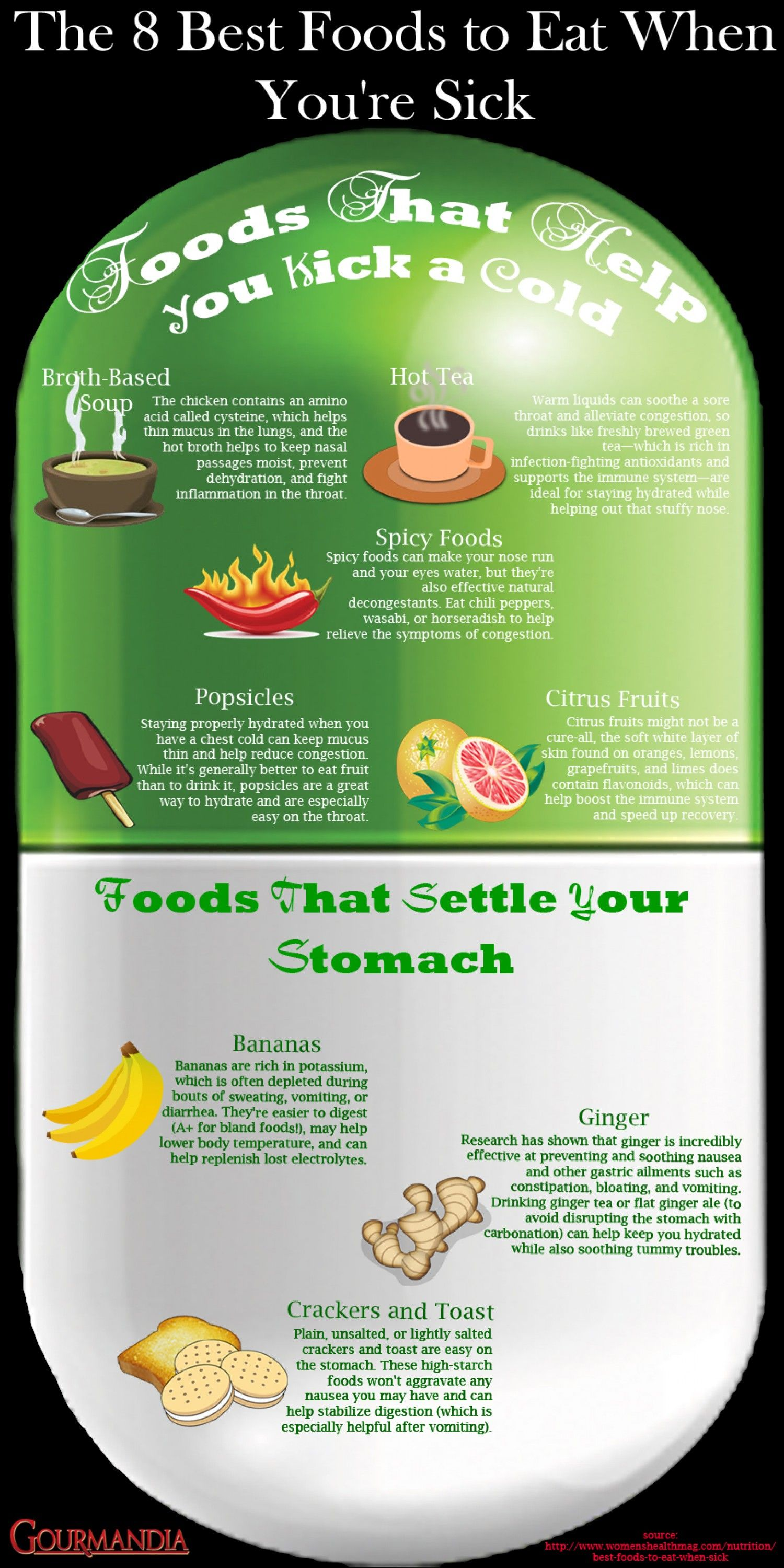 how to stay on a diet when sick