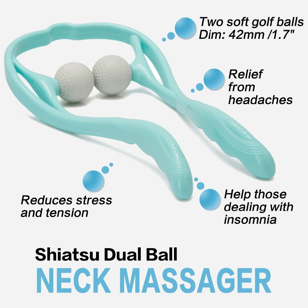 Neck And Shoulder Massager U Shaped Neck Massage Massage Tools