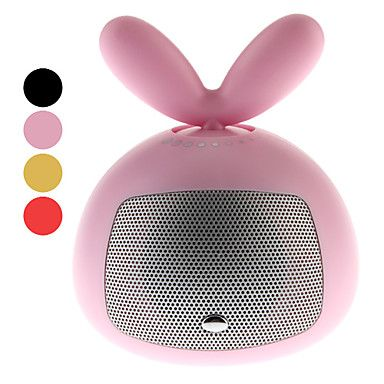 iTooo Mini Bass Speaker with Bunny Ears Controlling Volumn – USD $ 35.79