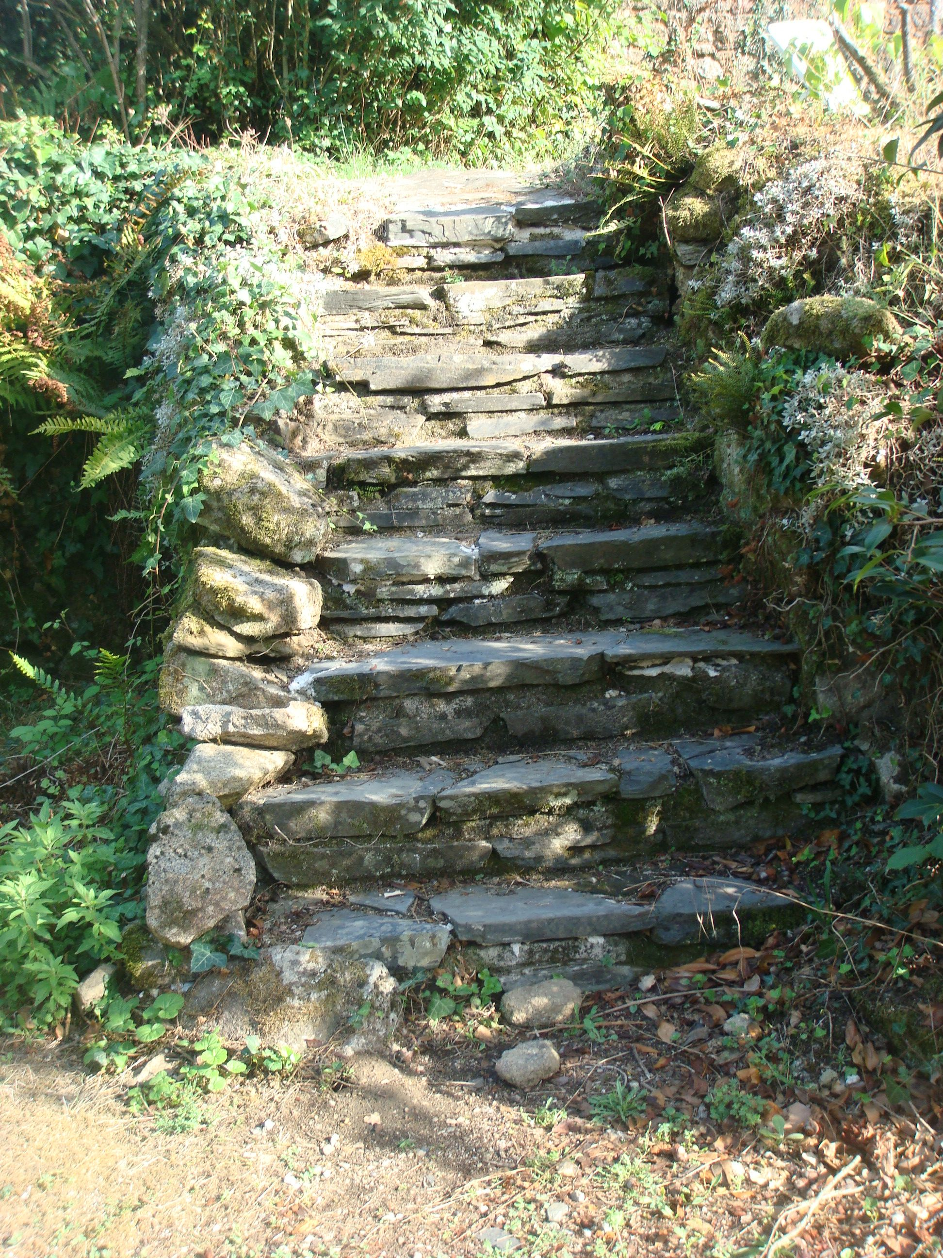 Best Our Old Slate And Granite Steps Landscape Months In A 400 x 300