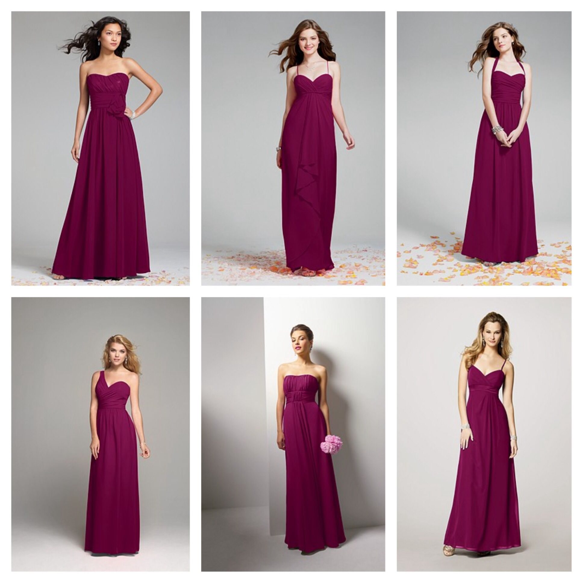Sangria Color Bridesmaid