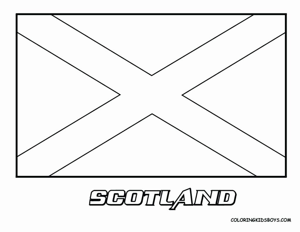 Scotland Flag Coloring Page Flag Coloring Pages Coloring Pages
