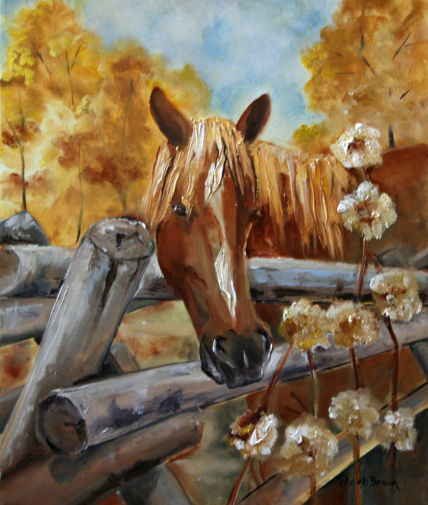 """Waiting and Watching"" www.barbbrownsart.com or https://www.etsy.com/shop/BarbBrownsFineArt?ref=shop_sugg"