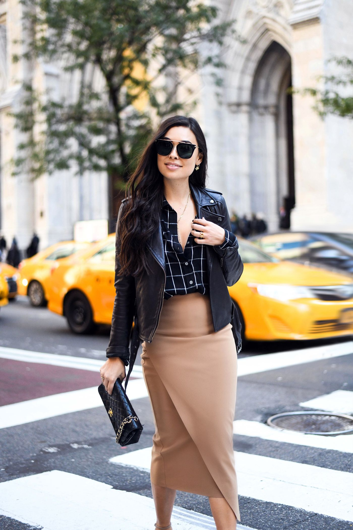 0ee2e8ce935355 Camel Pencil Skirt Uptown | Fashion | Suede pencil skirt, Skirts ...