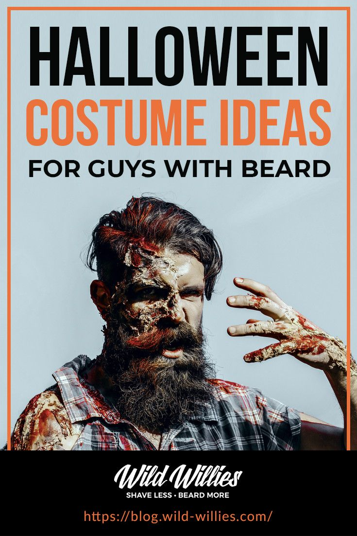 Halloween Costume Ideas For Guys With Beards Mens