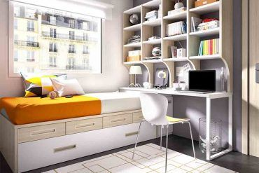 Guía Para Elegir El Dormitorio Juvenil: Estanterías