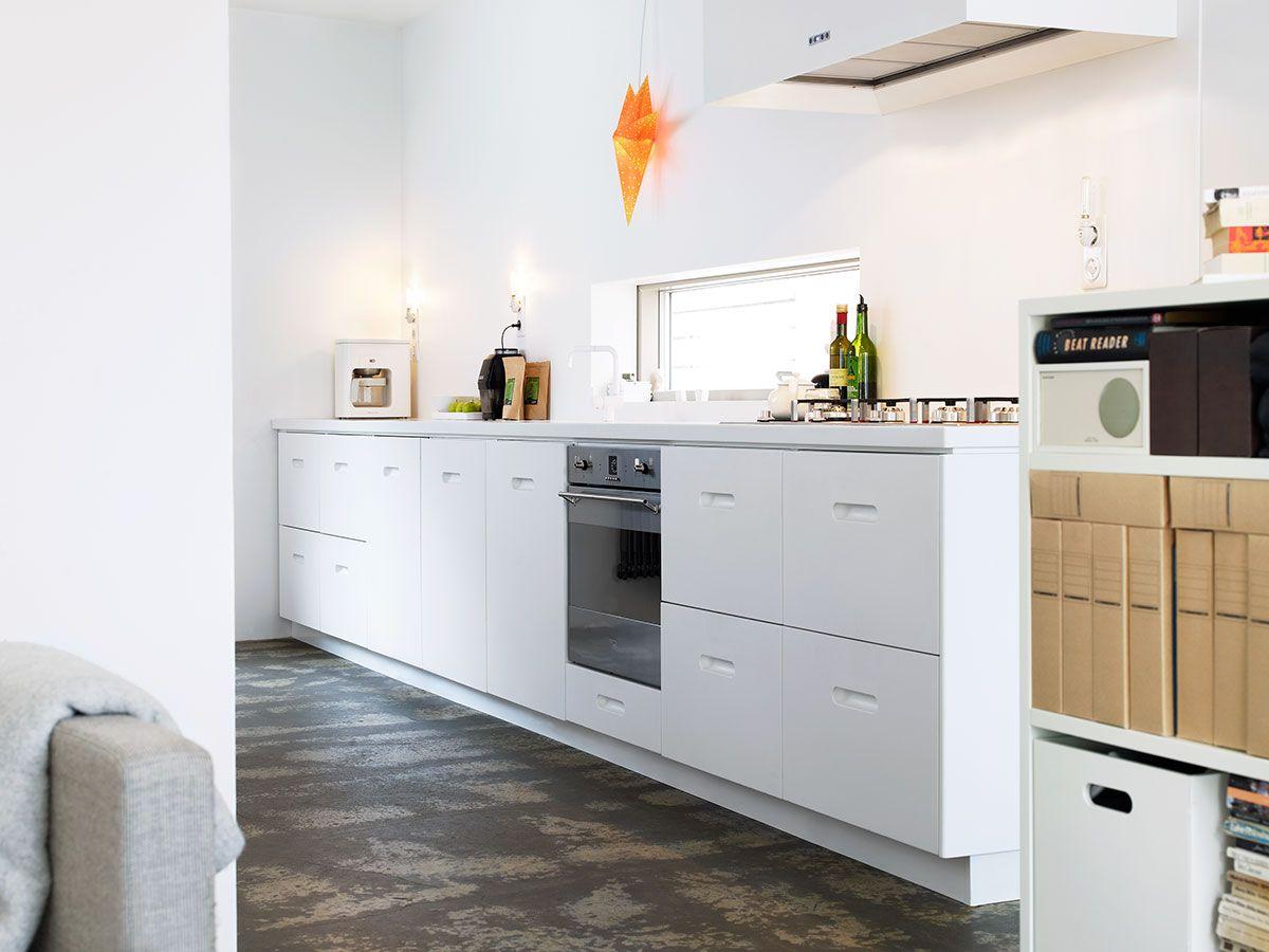 Nyfiken pÃ¥ ett exklusivt, modernt vitt kök? Köksserien K2 Corian ... : exklusiva kök : Kök