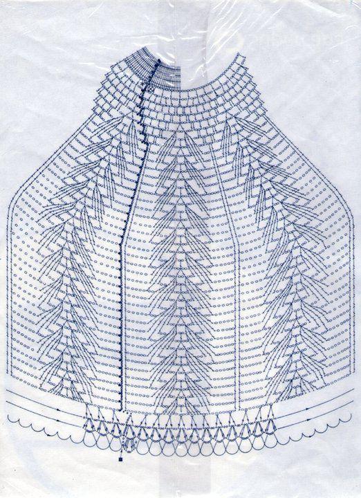 Patrón: Pantalla tejida al crochet | Tejido Facil lámpara | Patrones ...
