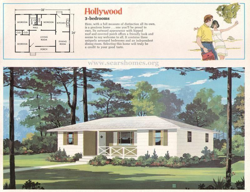 Jim Walter Homes A Peek Inside The 1971 Catalog Sears Modern Homes Floor Plans Modern House House Floor Plans