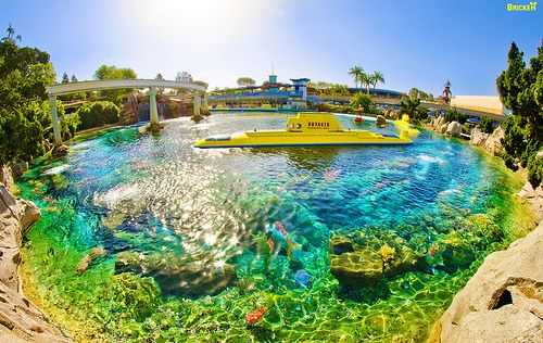 Disneyland Finding Nemo Submarines in Mermaid Lagoon