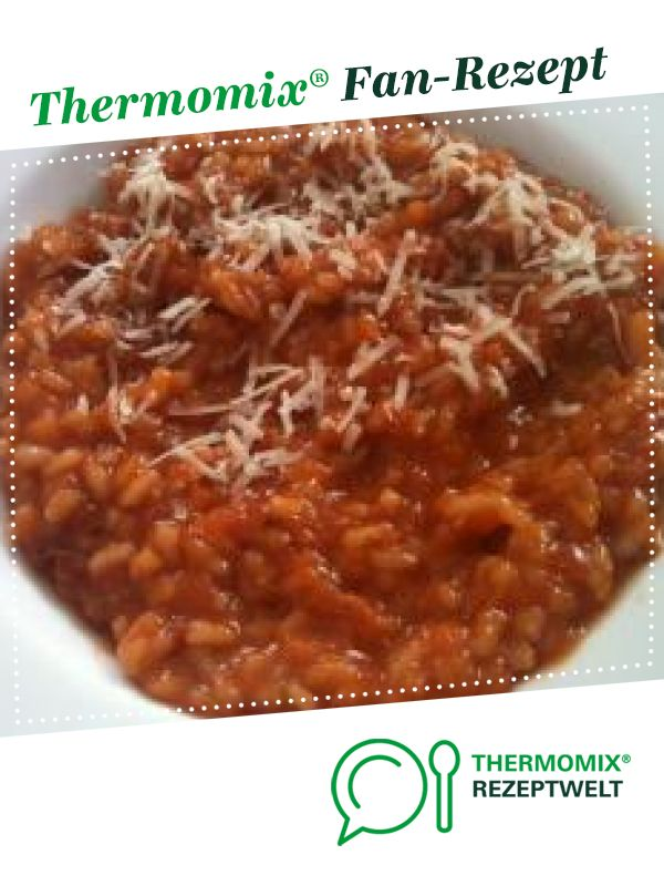 Photo of Tomato risotto (risotto with tomatoes)