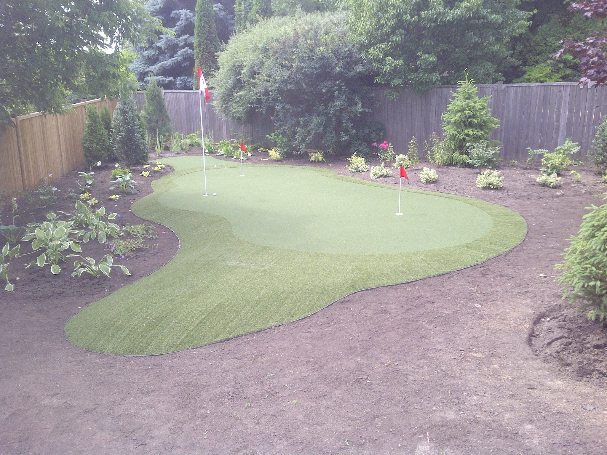 Pin from synlawnvancouver.ca | Backyard putting green ...