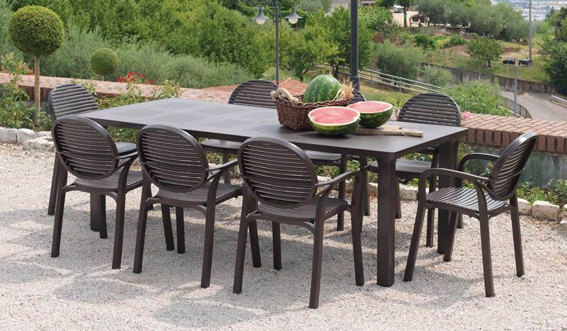 Tavolo Levante   Nardi   Tavolo giardino, Tavolo e sedie ...