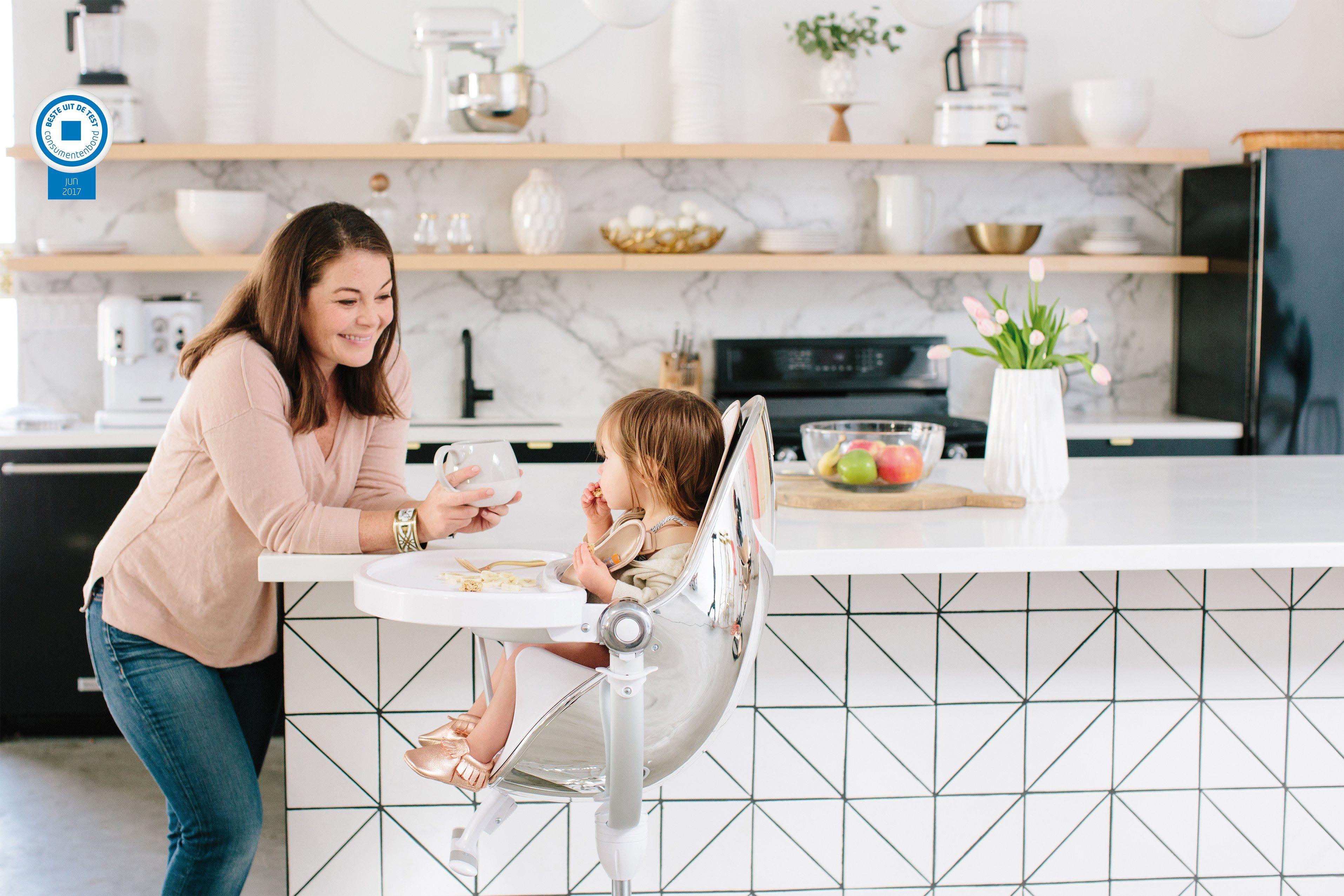 De kinderstoel fresco bloom is een ware eye catcher in huis
