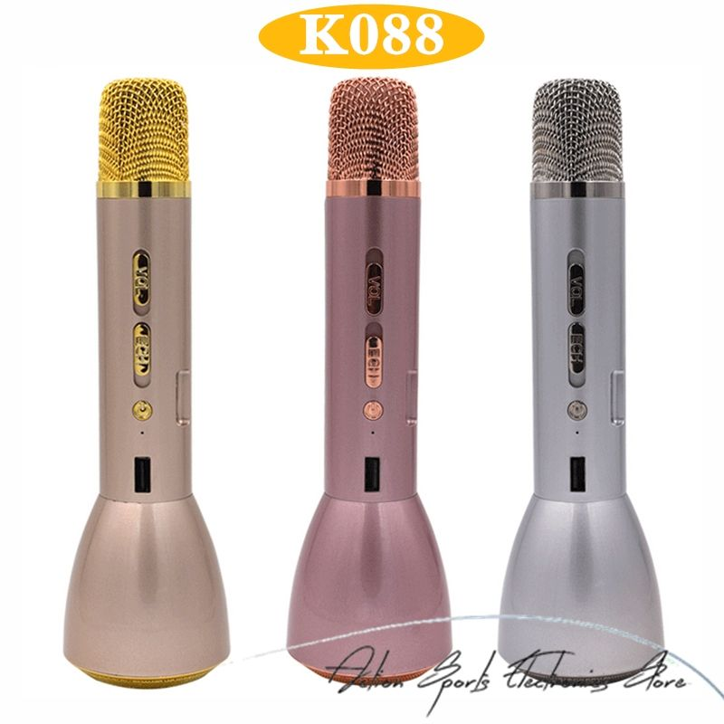 3 In 1 Wireless Bluetooth Microphone With Bluetooth
