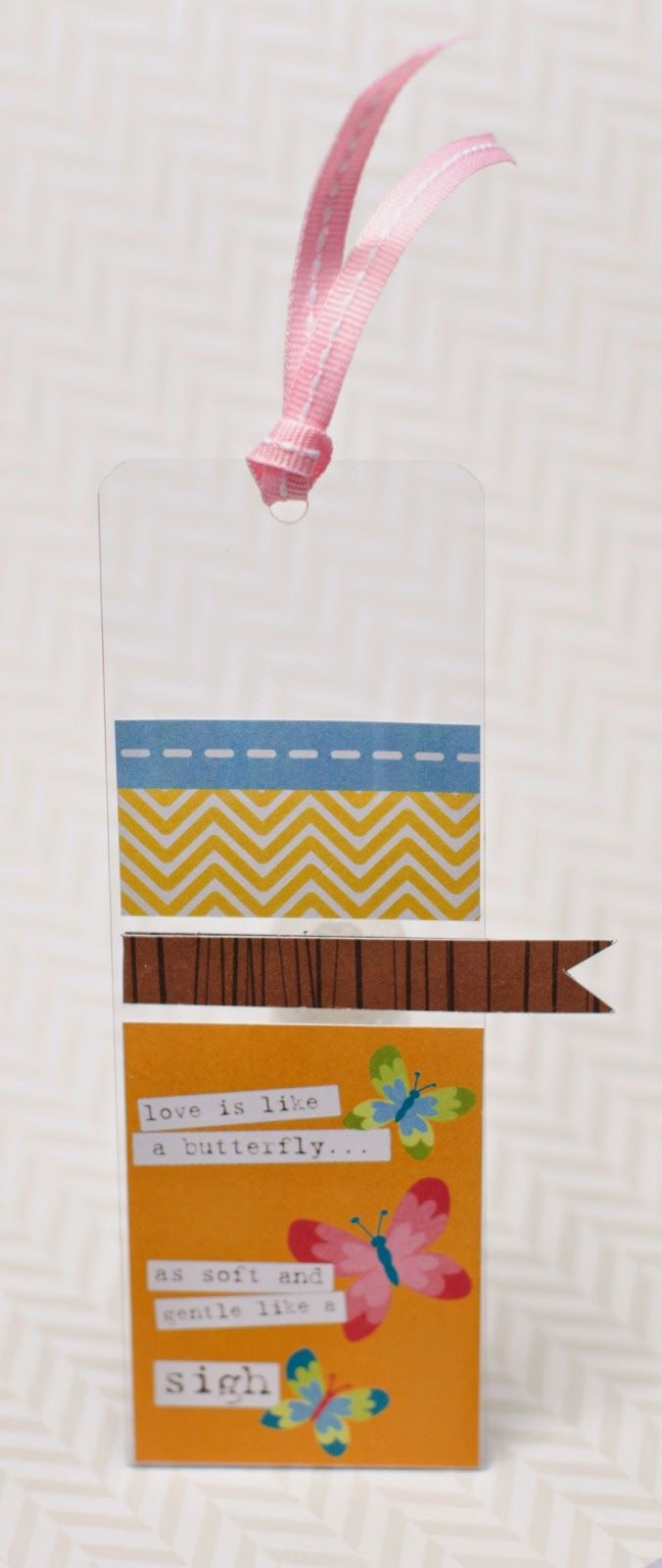 love the clear background and the use of scraps!
