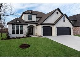 Image Result For Taupe Stone Houses Dark Trim