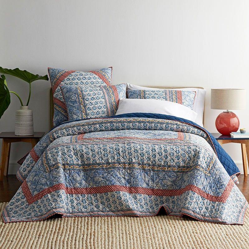 Sarita Lightweight Cotton Voile Quilt The Company Store Voile Quilts The Company Store King Quilt