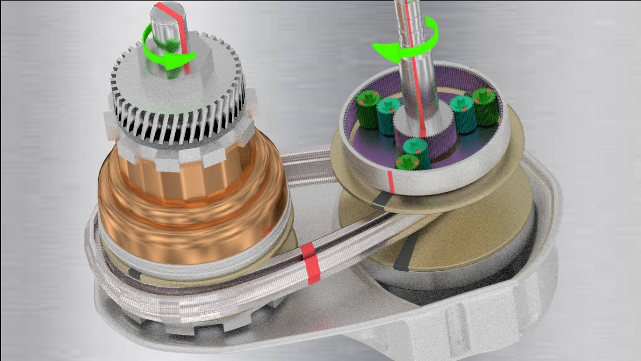 Understanding CVT (Countinously variable transmission