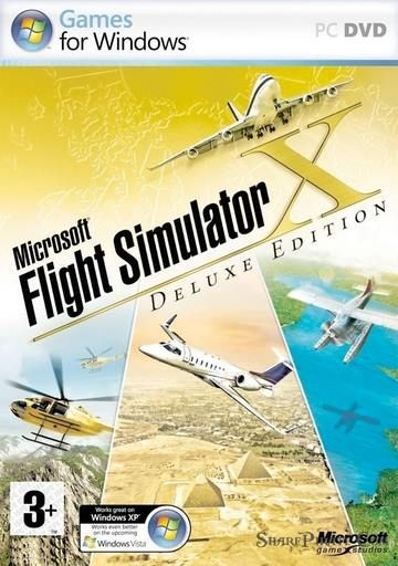 Microsoft Flight Simulator X Cracked - Razor1911 cover