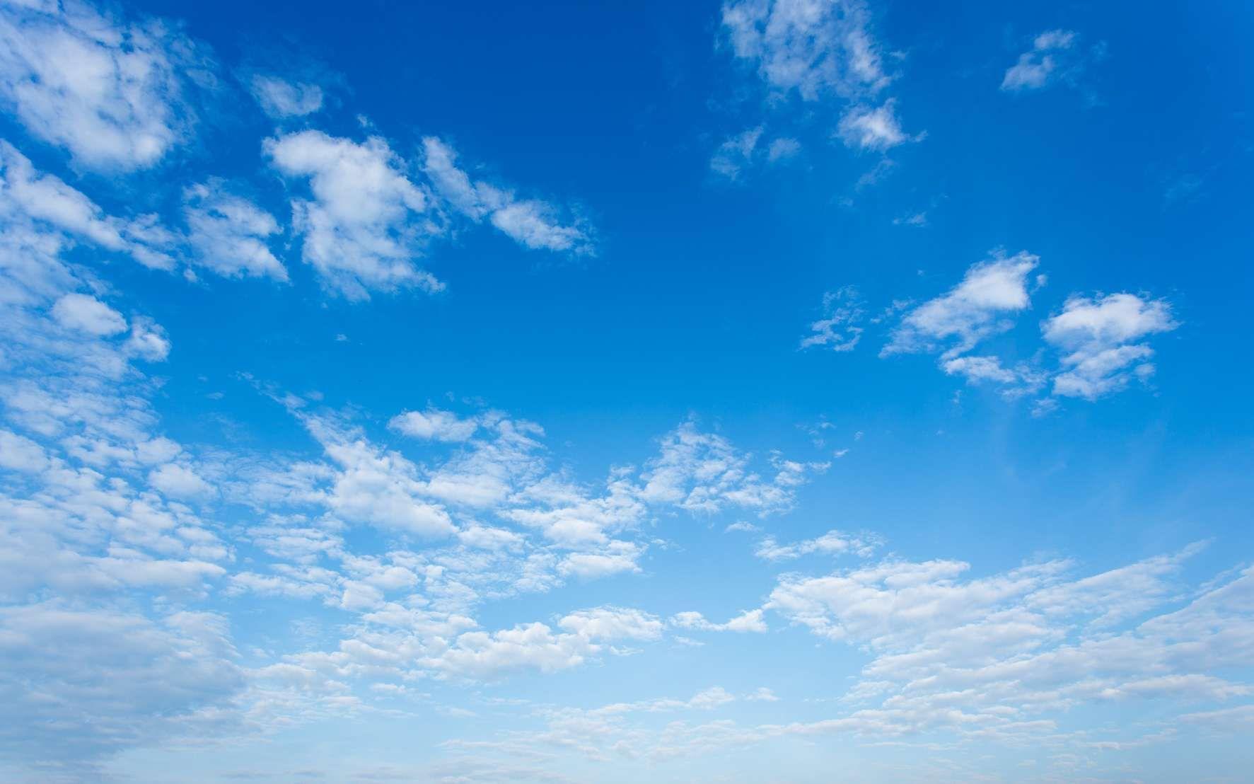 Pourquoi Le Ciel Est Il Bleu Ciel Bleu Ciel Paysage Bleu