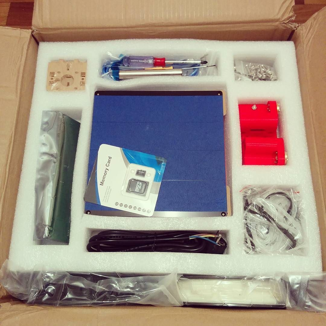 Something we liked from Instagram! My order from aliexpress: RepRap Prussa i3 P802M. #3dprinter #aliexpress #reprap #3dprint #3dprinting by sigmabot check us out: http://bit.ly/1KyLetq