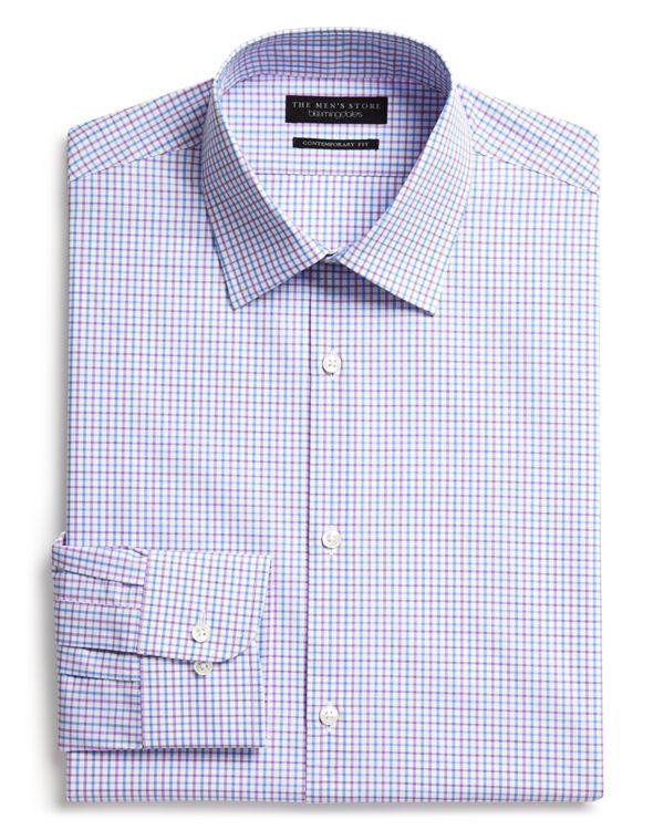 b445722861 The Men s Store at Bloomingdale s Tattersall Check Dress Shirt - Regular Fit  - Bloomingdale s Exclusive