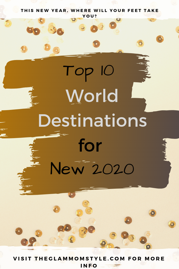 Top 10 World Destinations for New 2020! New Year's Eve is