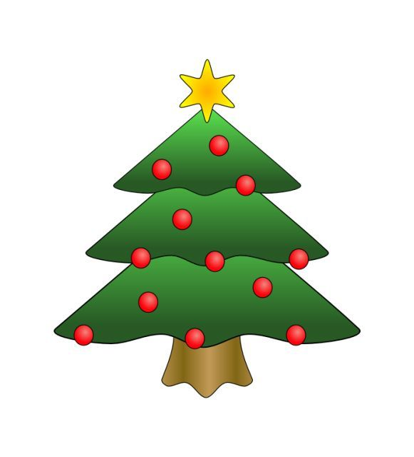 Where To Download Free Clip Art Of Christmas Trees Christmas Tree Pictures Christmas Tree Art Christmas Clipart Free