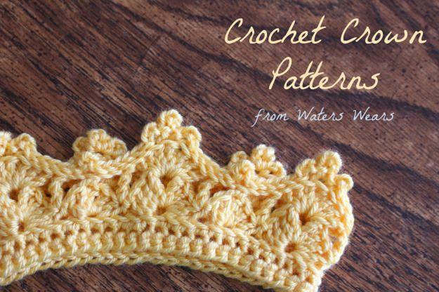 Waters Wears: Crochet Crowns, Two Free Patterns | Crochet nic nacs ...
